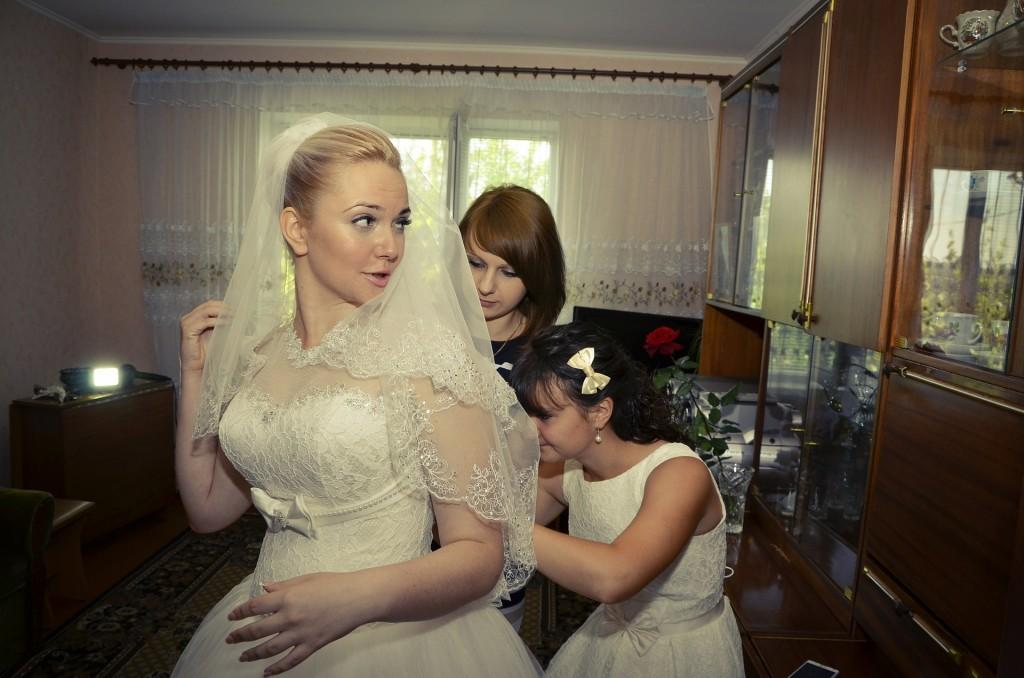 Novia,vestido de bodas.