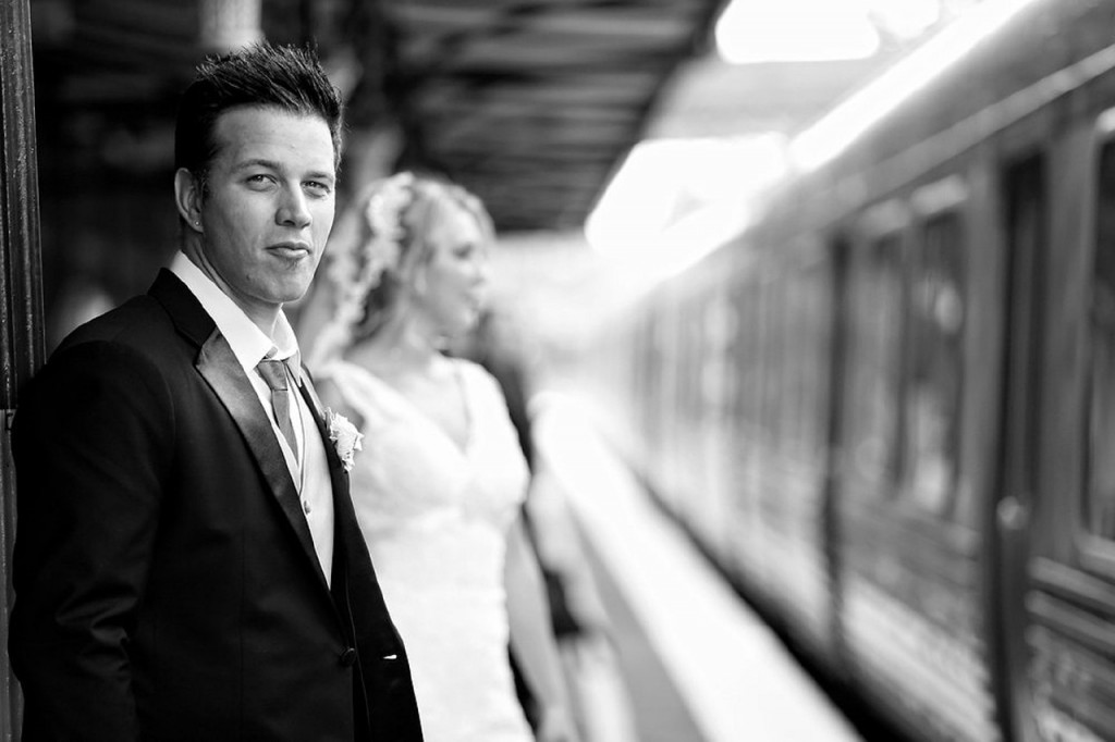 novios, estación de tren